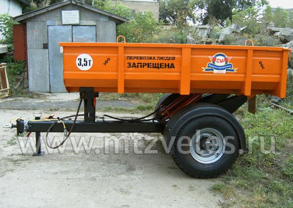 Тракторный полуприцеп 1ПТБ-С3,5