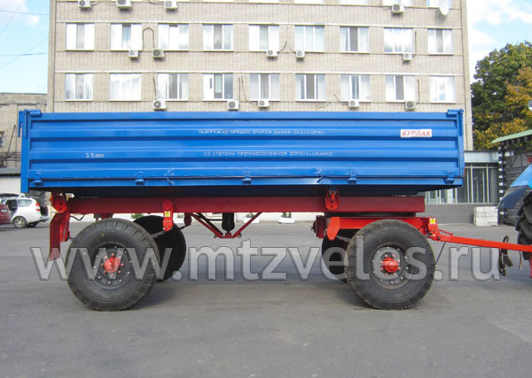 Тракторный прицеп 2ПТС-4.5