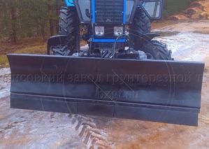 Сменная коммунальная лопата ОБК-2500С для ОБГ/ОБН-2000