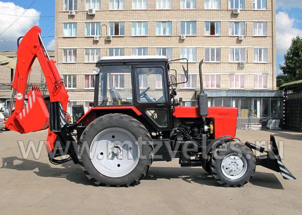 Экскаватор-бульдозер ЭБП-9