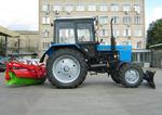 Уборочный трактор КМ-82БГ на базе МТЗ