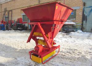 Разбрасыватель песка и минеральных удобрений Л-116-01 в комплекте с СА-1