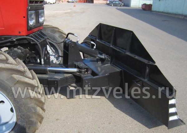 Бульдозерный отвал гидроповоротный ОГ-02
