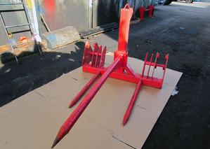 Вилы штыковые ПФН-235 для погрузчика ПФН-0.9