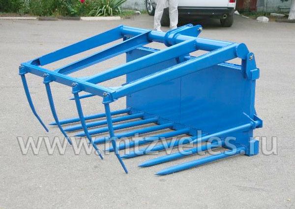 Вилы для погрузки навоза СНУ-550-15