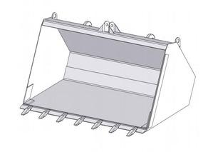 Ковш с зубьями ПБМ-800-1А (0,45 м3)