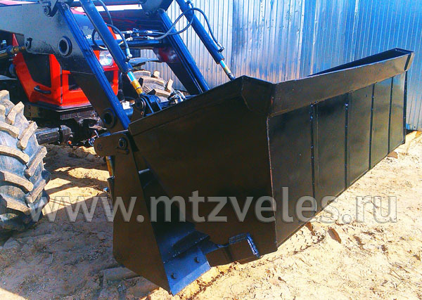 Ковш челюстной 0.75 м3 для погрузчика ПТМ-1100