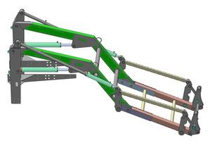 Удлинитель фронтального погрузчика ПТМ-0,75