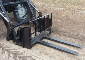 Вилы грузовые погрузочные для погрузчиков ПТМ