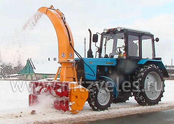 Шнекороторный снегоочиститель ШРК-2.0
